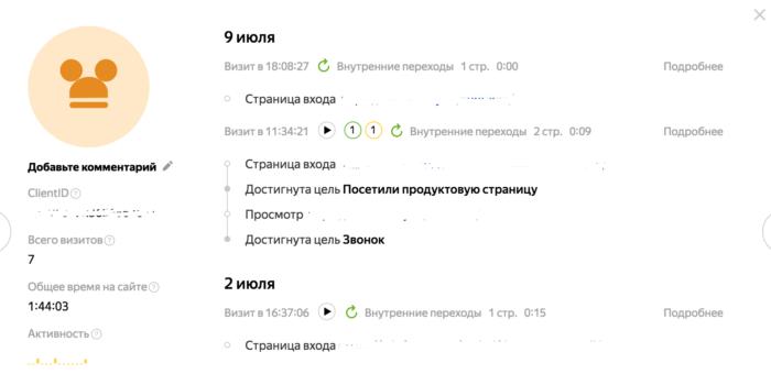 Новый отчет Посетители в Яндекс Метрике